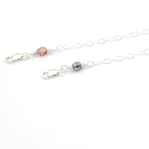 Add On - Czech Glass Crystal Chain Ends
