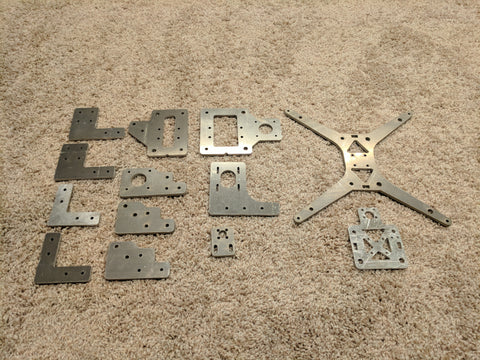 Stock Single Tevo Tarantula Aluminum Parts Full Set