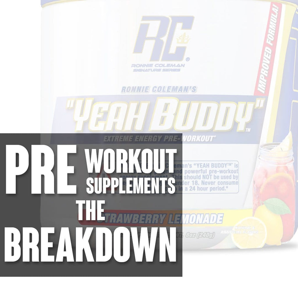 Do you NEED Pre Workout Supplements?