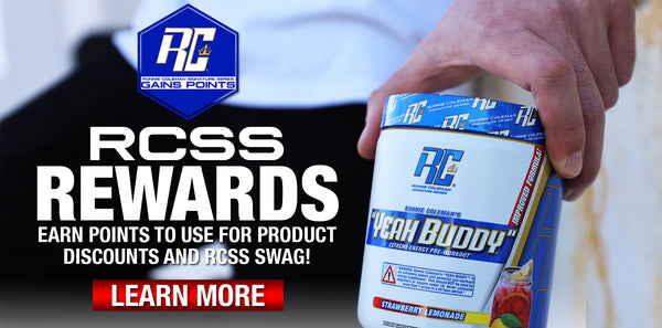 Ronnie coleman rewards program