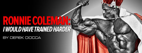 Ronnie Coleman on regret, his past surgeries and what he would have done differently