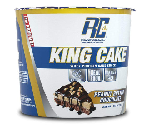 Ronnie Coleman Signature Series Protein Peanut Butter Cup King Cake 6 Pack