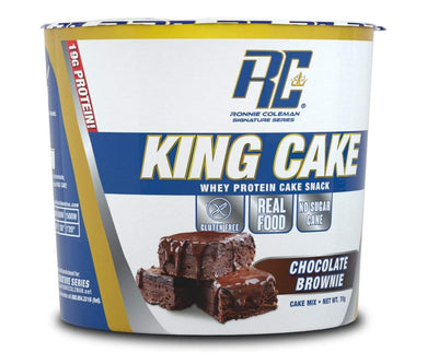 Ronnie Coleman Signature Series Protein Triple Chocolate Brownie King Cake Single