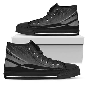Pillow Profits Apparel & Accessories Shoes Mens High Top - Black - Carbon Training Shoe / US5 (EU38) Carbon Training Shoe