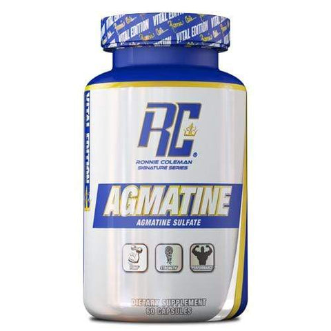 Ronnie Coleman Signature Series Essentials 60ct Agmatine Ronnie Coleman Signature Series Bodybuilding Supplements