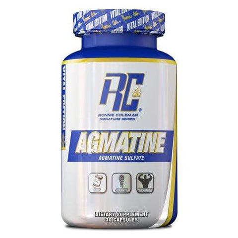 Image of Ronnie Coleman Signature Series Essentials 60ct Agmatine Ronnie Coleman Signature Series Bodybuilding Supplements