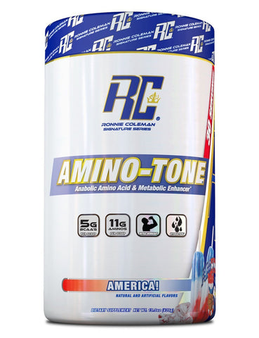 Image of Ronnie Coleman Signature Series Aminos America AMINO-TONE 30 Scoops