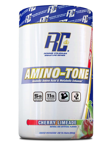 Image of Ronnie Coleman Signature Series Aminos Cherry Limeade AMINO-TONE 30 Scoops