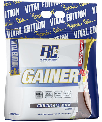 Ronnie Coleman Signature Series Mass Gainer Chocolate Milk GAINER XS 10lb