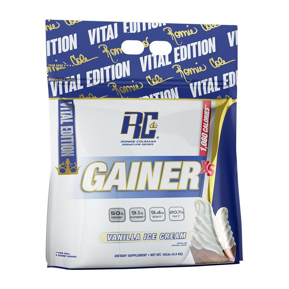 Ronnie Coleman Signature Series Mass Gainer Vanilla Ice Cream GAINER XS 10lb