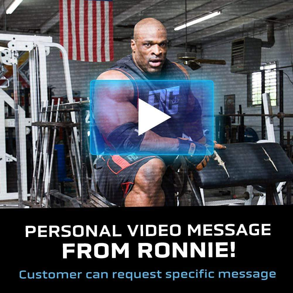 Ronnie Coleman Signature Series Personal Video Message From Ronnie Ronnie Coleman Signature Series Bodybuilding Supplements