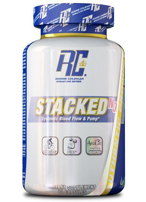 Ronnie Coleman Signature Series Pre Workout Pump 90-Count STACKED-N.O. Capsules