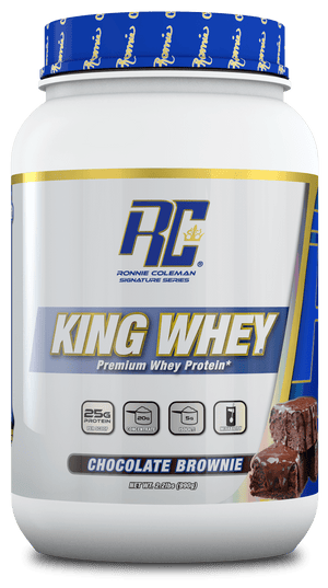 Ronnie Coleman Signature Series Protein Chocolate Brownie King Whey 2lb