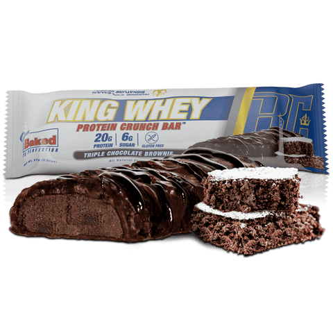 Ronnie Coleman Signature Series Protein King Whey Protein Crunch Bar