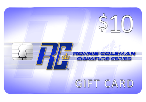 Image of Giftwizard $10 Ronnie Coleman Gift card Ronnie Coleman Signature Series Bodybuilding Supplements