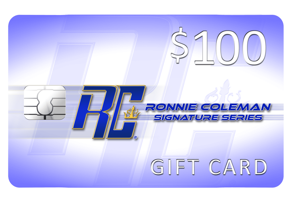 Giftwizard Ronnie Coleman Gift card Ronnie Coleman Signature Series Bodybuilding Supplements