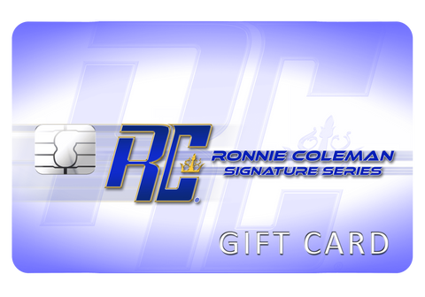 Image of Ronnie Coleman Gift card