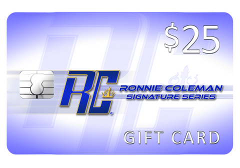 Image of Giftwizard Ronnie Coleman Gift card Ronnie Coleman Signature Series Bodybuilding Supplements