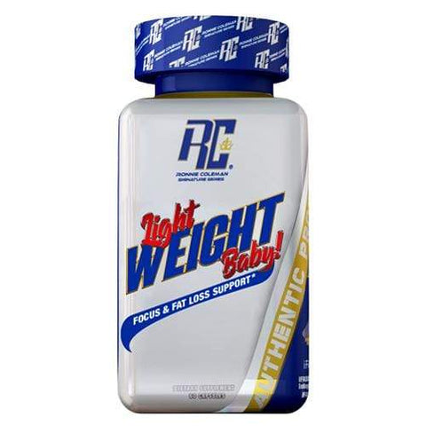 "Ronnie Coleman Signature Series Fat Burner Ronnie Coleman's ""Light Weight Baby"" Ronnie Coleman Signature Series Bodybuilding Supplements"