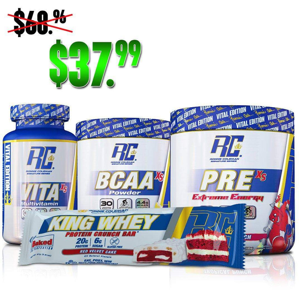 Ronnie Coleman Signature Series Stack Default Title Vital XS Starter Kit