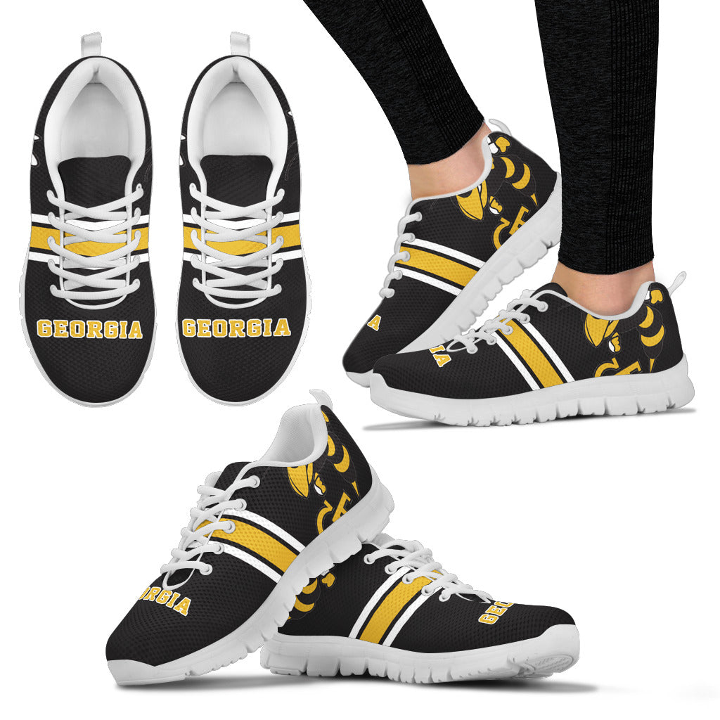 Georgia Tech Sneakers Express - societyofprints - Society of Prints - Shoes