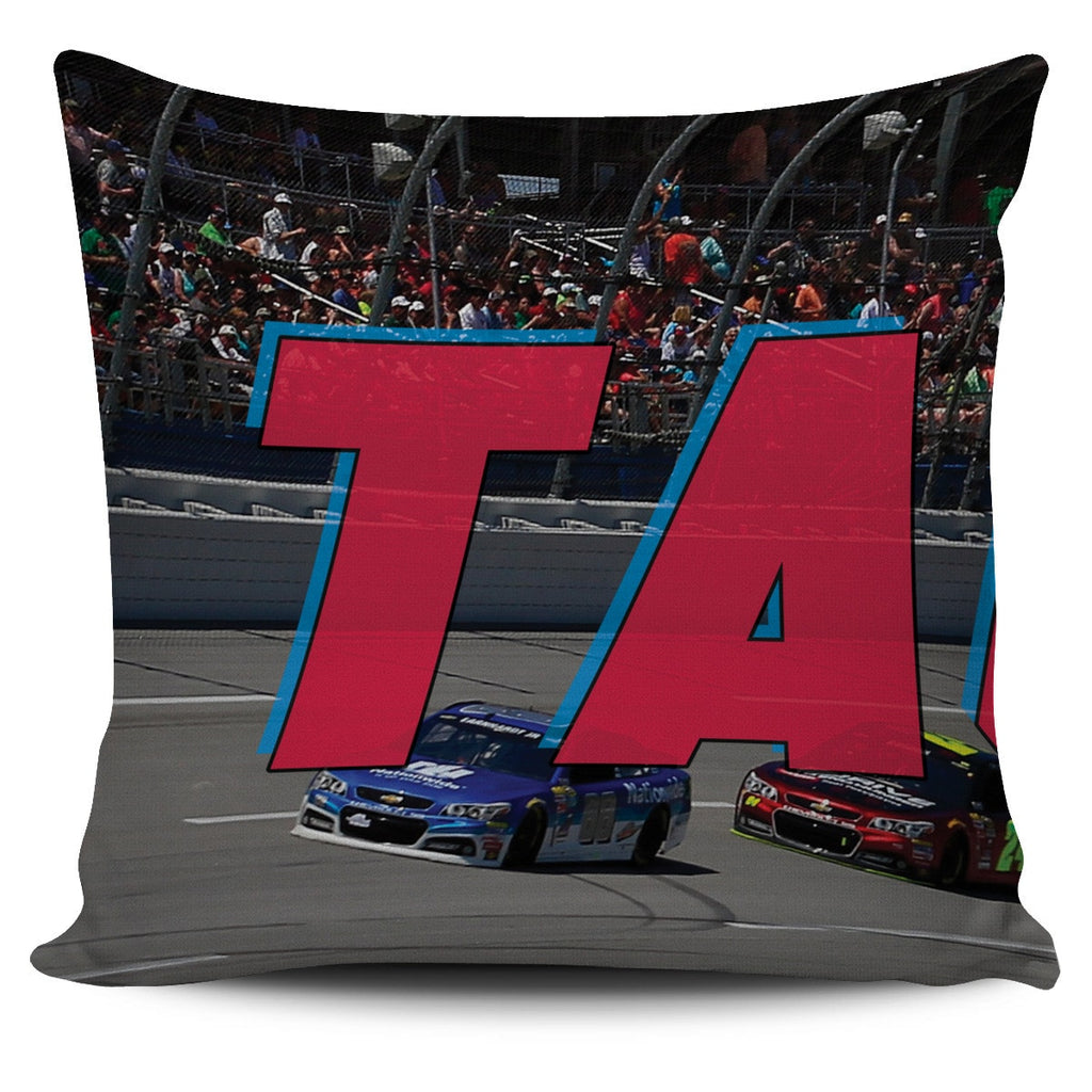 Talladega Panoramic Pillow Covers - societyofprints - Society of Prints - Throw Pillow
