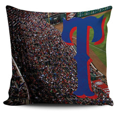 Texas Color Panoramic Stadium Pillow Cover Set