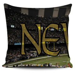 New Orleans Panoramic Stadium Pillow Cover Set