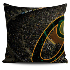 Oakland Color Panoramic Stadium Pillow Cover Set