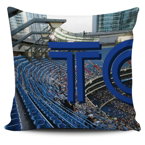 Toronto Panoramic Stadium Pillow Cover Set - societyofprints - Society of Prints -