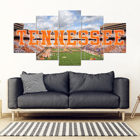 Tennessee Vols 5 Panel Full Canvas Artwork