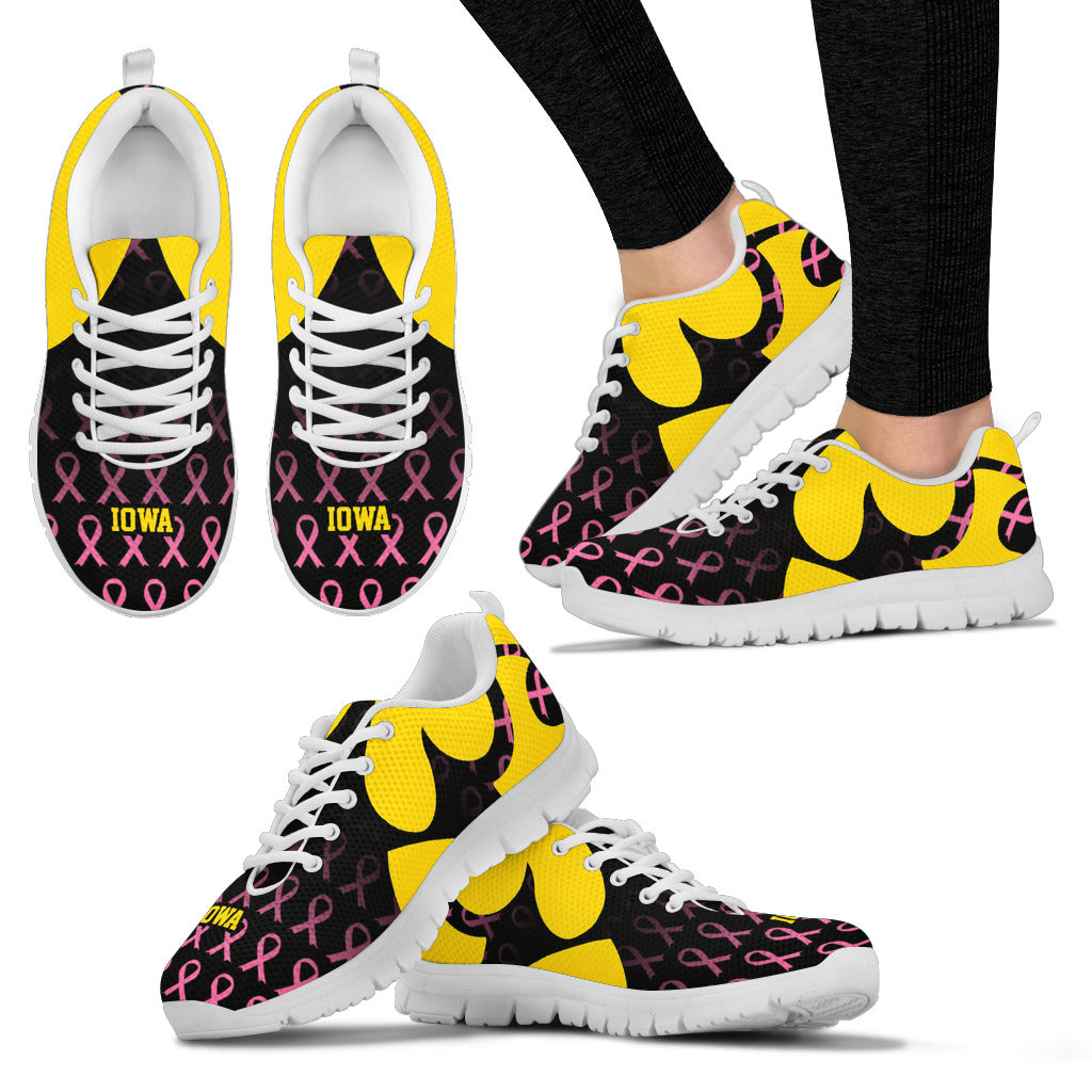 Iowa Breast Cancer Awareness Shoes Express - societyofprints - Society of Prints - Shoes