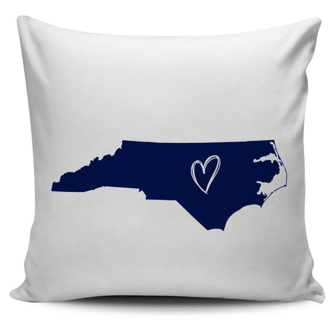 North Carolina Mix & Match Pillow Covers - societyofprints - Society of Prints - Throw Pillow