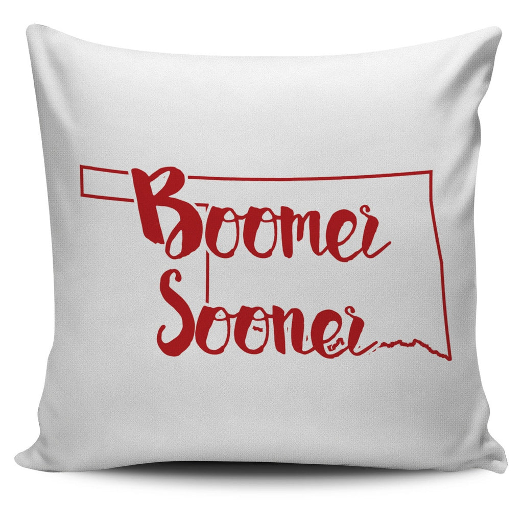 Oklahoma Stencil Pillow Covers - societyofprints - Society of Prints -