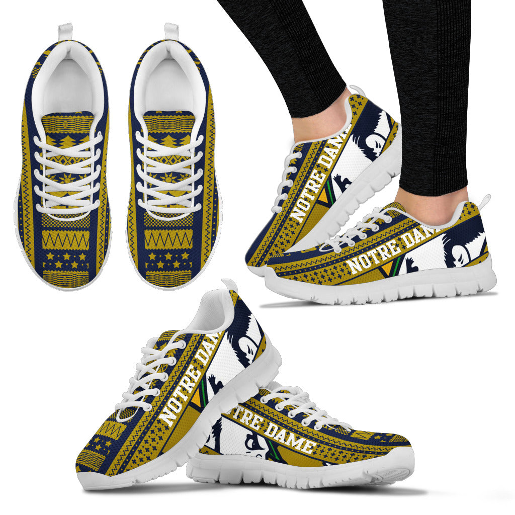 Notre Dame Christmas Sneakers Express