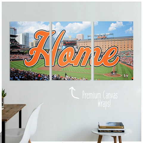 Baltimore Home Premium Canvas Wraps - societyofprints - Society of Prints - Canvas Wrap