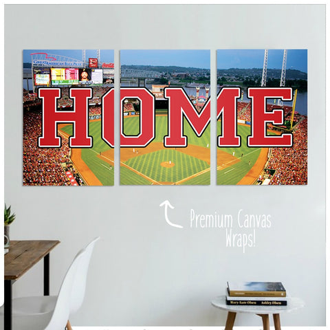 Cincinnati Home Premium Canvas Wraps - societyofprints - Society of Prints - Canvas Wrap