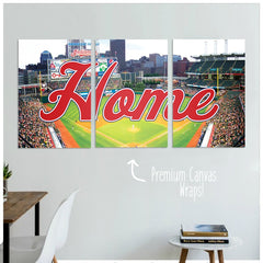 Cleveland Home Premium Canvas Wraps - societyofprints - Society of Prints - Canvas Wrap