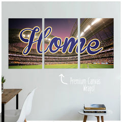 Milwaukee Home Premium Canvas Wraps - societyofprints - Society of Prints - Canvas Wrap