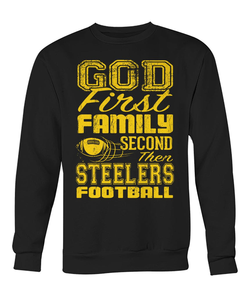 God Family Steelers Football