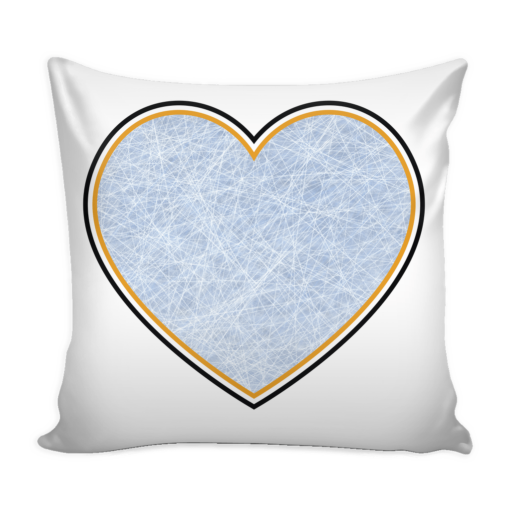 Pittsburgh Hockey Stencil Throw Pillow Covers - societyofprints - Society of Prints - Pillows