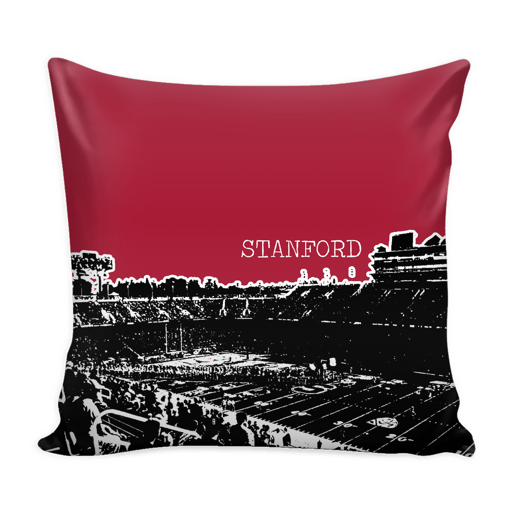Stanford Stencil Throw Pillow Covers - societyofprints - Society of Prints - Pillows