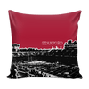 Image of Stanford Stencil Throw Pillow Covers - societyofprints - Society of Prints - Pillows