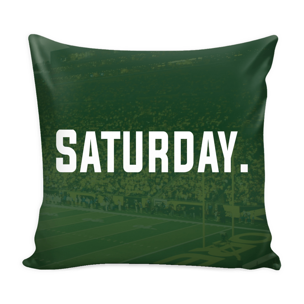 Saturday Oregon Pillow Cover - societyofprints - Society of Prints - Pillows