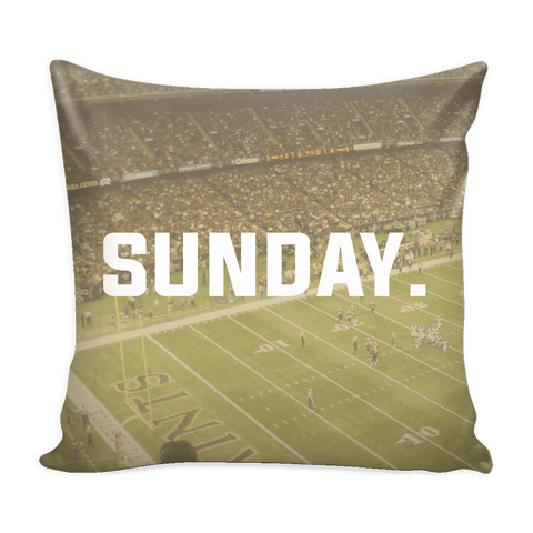 New Orleans Sunday Football Pillow Cover - societyofprints - Society of Prints - Pillows