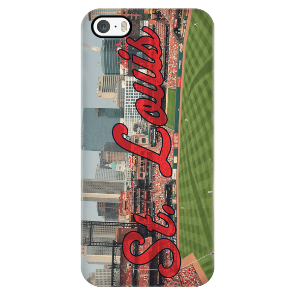 St. Louis Panoramic Phone Case - societyofprints - Society of Prints - Phone Cases