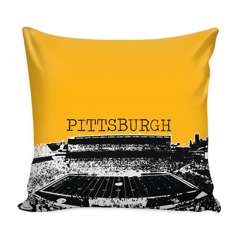 Pittsburgh Stencil Pillow Covers - societyofprints - Society of Prints - Pillows