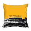 Image of Pittsburgh Stencil Pillow Covers - societyofprints - Society of Prints - Pillows