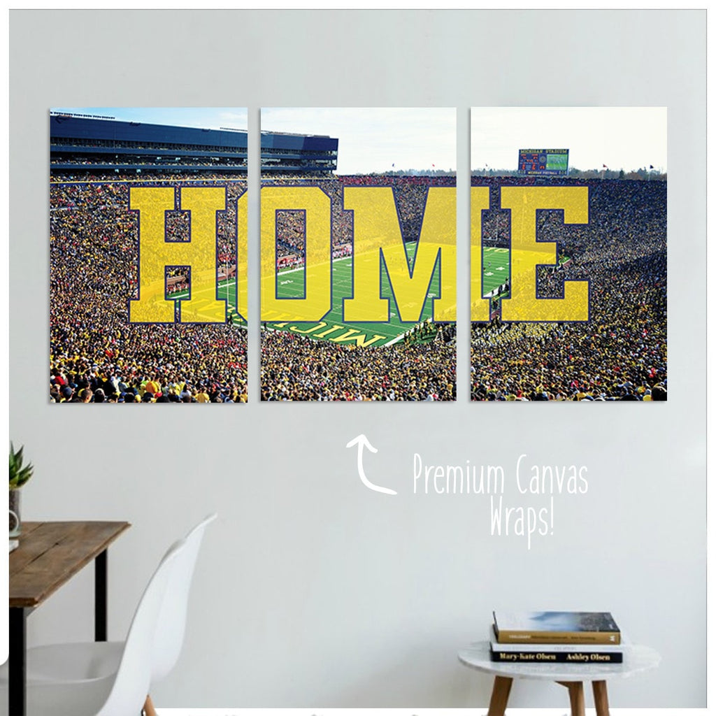 Michigan Premium Canvas Wraps - societyofprints - Society of Prints - Canvas Wrap