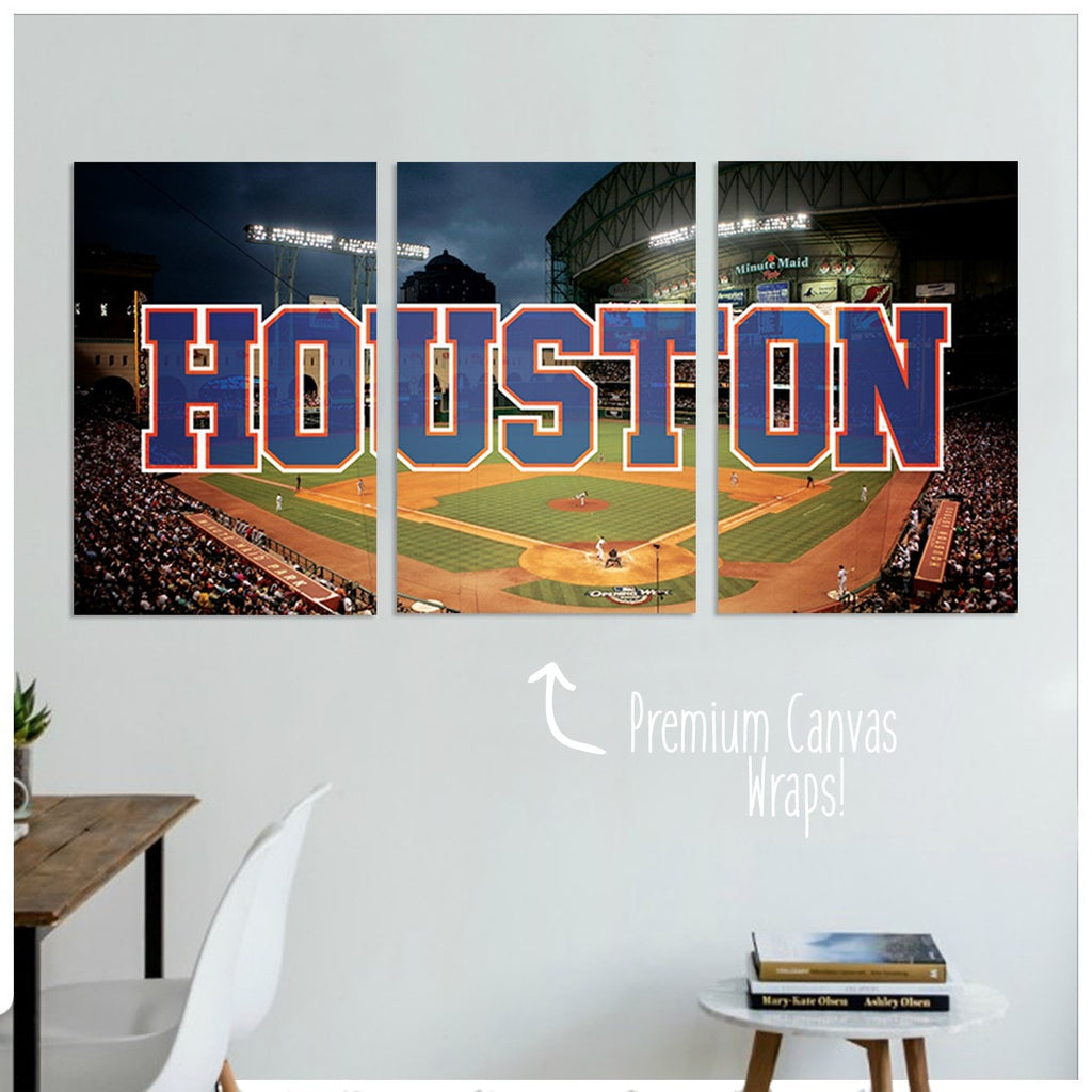 Houston Premium Canvas Wraps - societyofprints - Society of Prints - Canvas Wrap